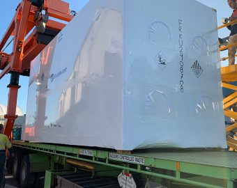 Shorpak Sea Container ShrinkWrapping