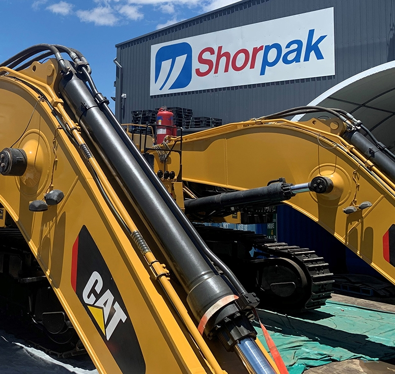 Shorpak Shed Sign with CAT